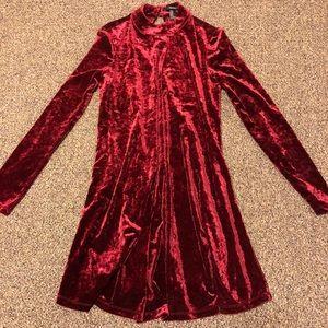 Red Velvet Forever 21 Dress